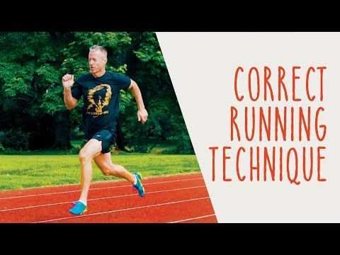 Running Form Correct Technique And Tips To Avoid Injury Youtube Running Running Form Proper Running Technique