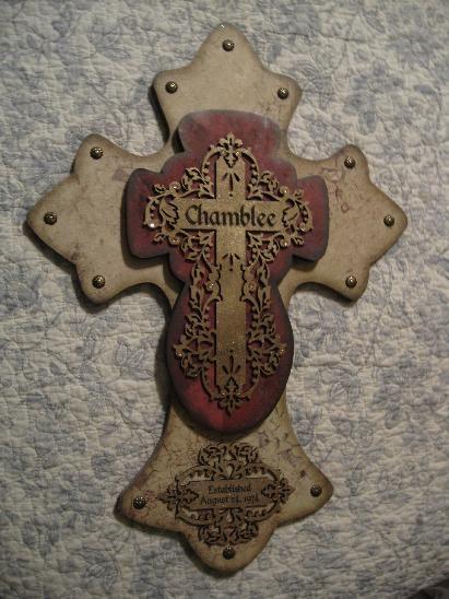 handmade cross