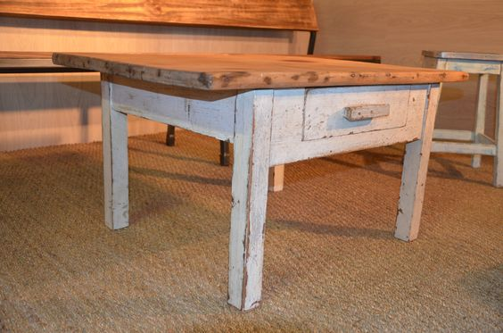 Shabby chic tables upcycling and shabby chic on pinterest for Mobilier shabby chic