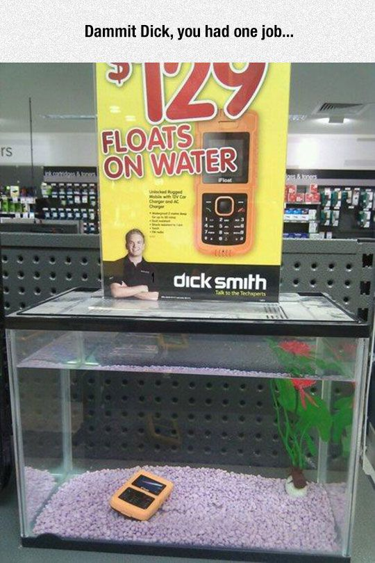 Not The Best Product Advertisement