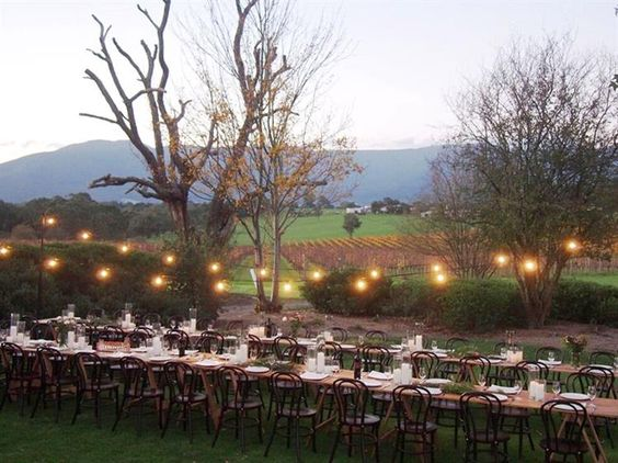 Bulong Estate [VIC] You don't share our venue, garden or vineyard with anyone else when you choose to celebrate your special occasion at Bulong Estate Winery.
