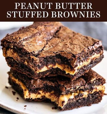 The Simple Peanut Butter brownies