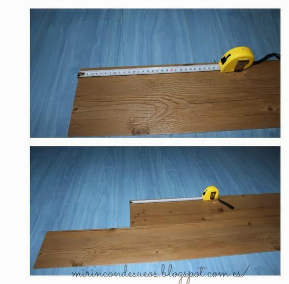 Paso a paso colocar un suelo de vinilo imitaci n madera - Suelo vinilico imitacion madera ...