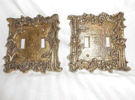 vintage switchplates