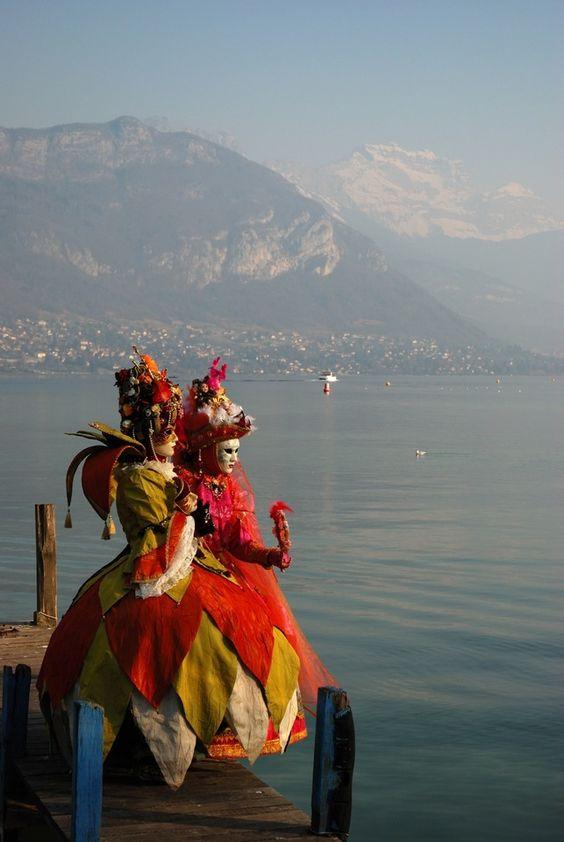 carnavall veneciano en Annecy (2008). FR.-