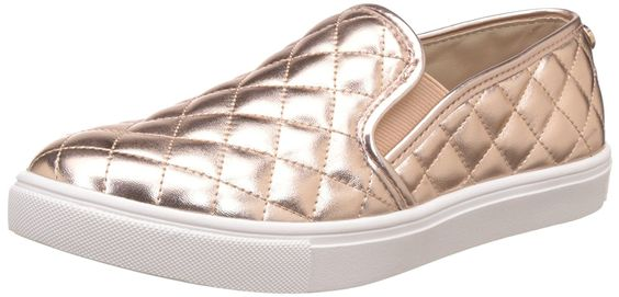 Amazon.com | Steve Madden Women's Ecentrcq Slip-On Fashion Sneaker | Fashion Sneakers