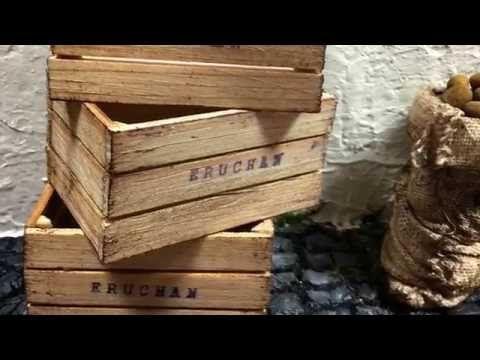 vdeos trabajos trabajos manuales video cajas canastillas fciles tutos belenes eruchan miniaturas madera frutas fciles tutorial verduras youtube