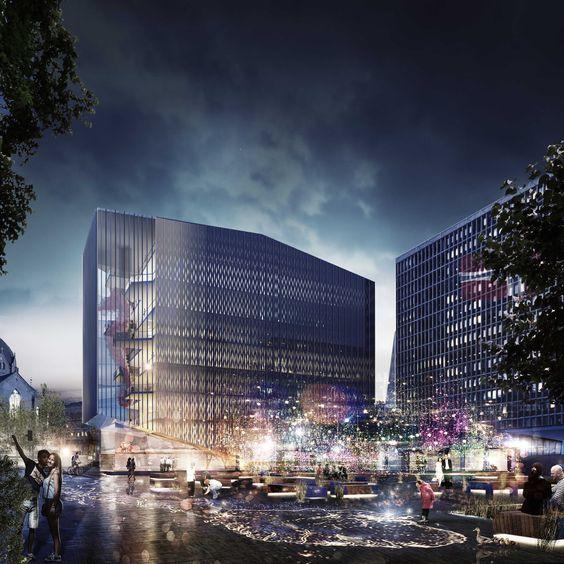 Shortlist für Regierungsviertel in Oslo / Pyramiden für Minister - Architektur und Architekten - News / Meldungen / Nachrichten - BauNetz.de