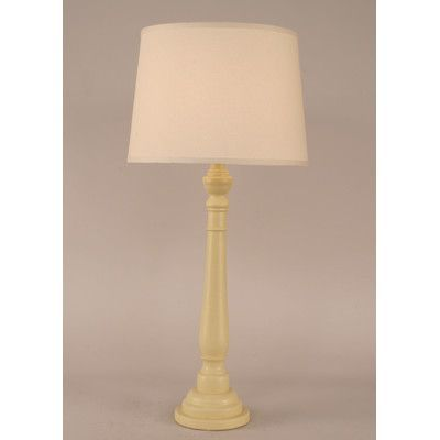 "Coast Lamp Mfg. Coastal Living Round Buffet 33"" H Table Lamp with Empire Shade"