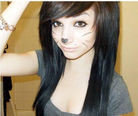Astounding Black Emo Hair Emo Hair And Emo On Pinterest Short Hairstyles Gunalazisus