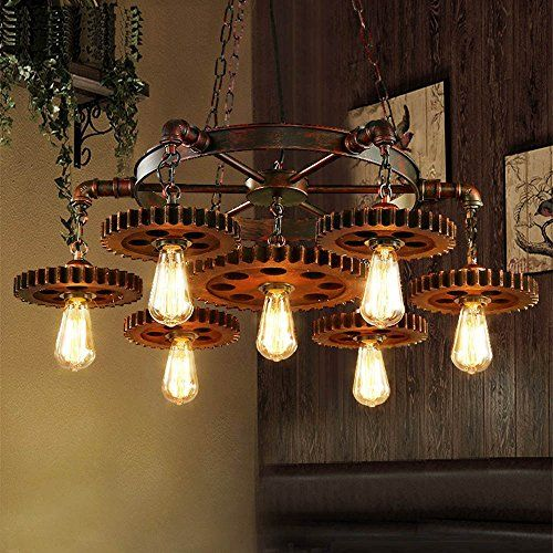 15 Industrial Farmhouse Chandeliers For A Tight Budget Rustic