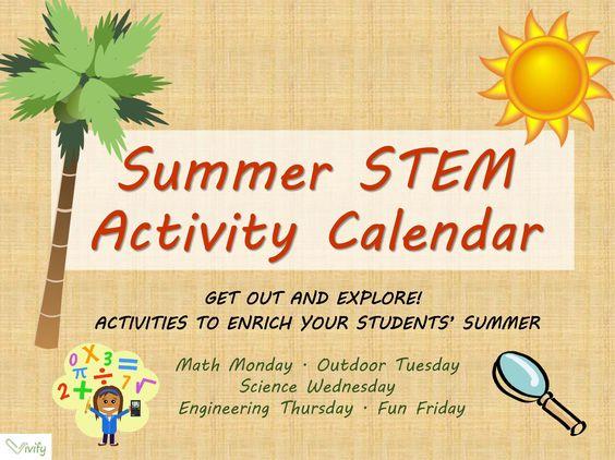 Calendar Activities For Elementary Students : Actividades escuela secundaria and verano on pinterest