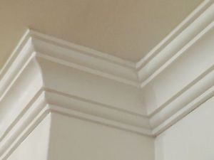 Victorian Style High Density XPS-Polystyrene Coving 10x10cm 20CM SAMPLE