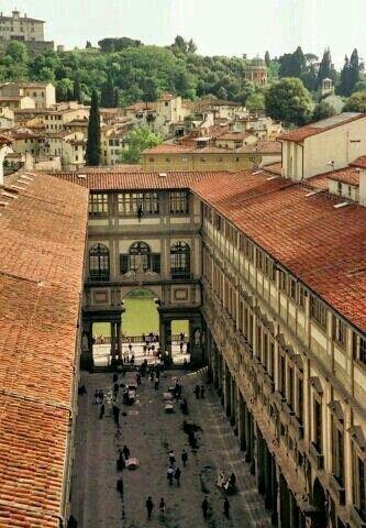 Galerias Ufizzi Florencia