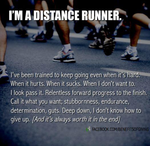distance runners.: Running Fitness, Long Distance, Cross Country, Distance Runners, Distance Running, Fitness Running, Marathon Quote, Running Quotes