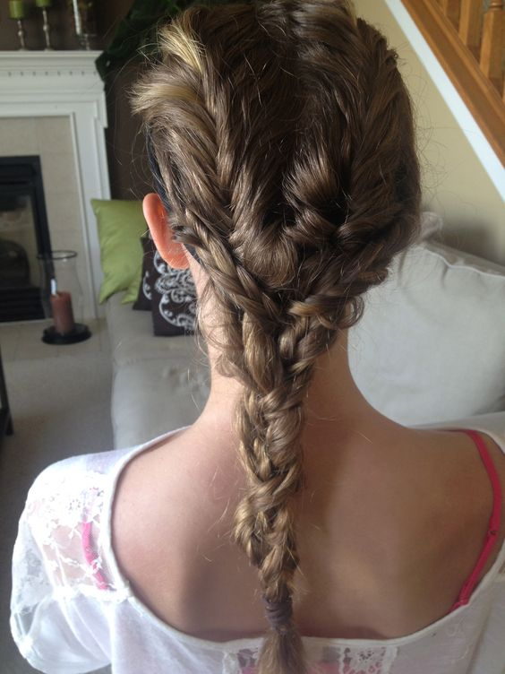 four fishtails in one