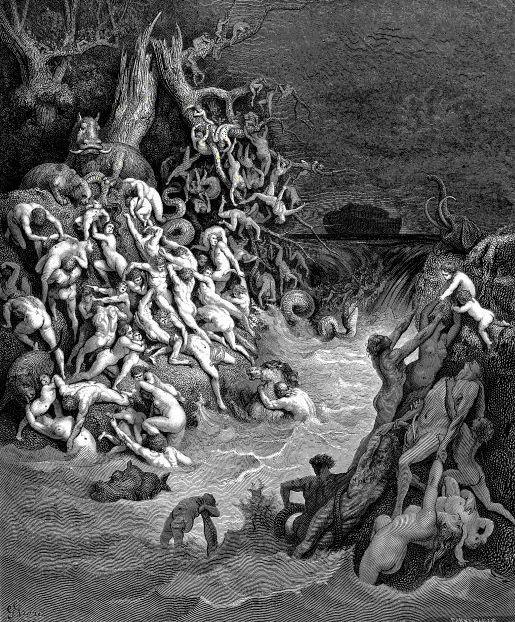 """Noah's """"Alien Experiment"""" en de universele zondvloed"""