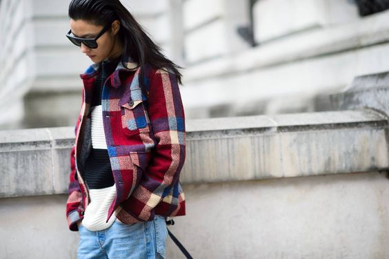 Photo by #Le21ème #LFW #AW15 #Streetstyle #Stylebop