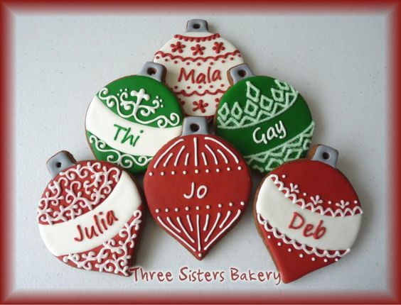 Biscotti di Natale :: Three Sisters Bakery - Cookies mano su ordinazione, Melbourne
