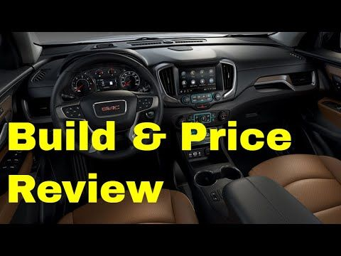 The 2019 Gmc Terrain Slt Is A Compact Crossover Suv With Seating