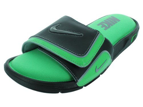 purchase cheap 31a55 a2c7e Wholesale Cheap Nike Air Lebron Slides Flops Green 487332 ...