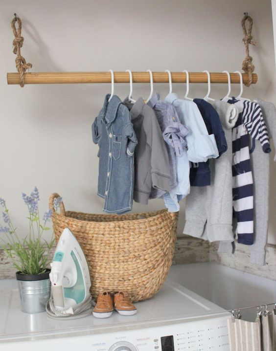Pure Nautical Laundry Room