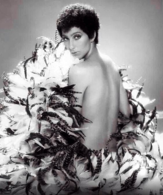 Cher 70's Blk & Wht pic from Cher's Twitter feed - first time seeing this one (and I've seen a lot of Cher pictures!)