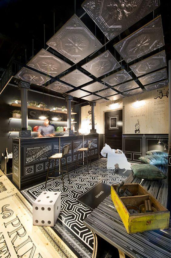 Park Avenue, uma loja que vende produtos de design, em Barcelona.