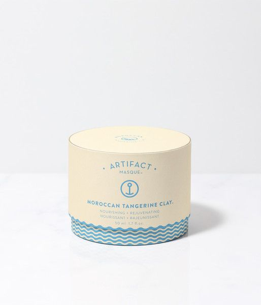 Moroccan Tangerine Clay Mask via Artifact, a Canadian beauty company. $52. For dry skin.