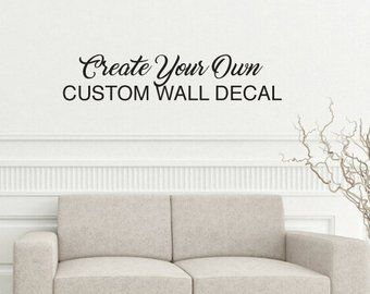 Custom Vinyl Wall Decals Https Www Otoseriilan Com Wall Decals Custom Vinyl Wall Decals Custom Wall Decals