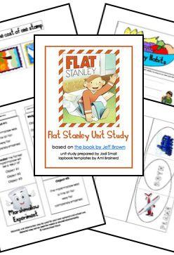 Free Flat Stanley Unit Study Printables