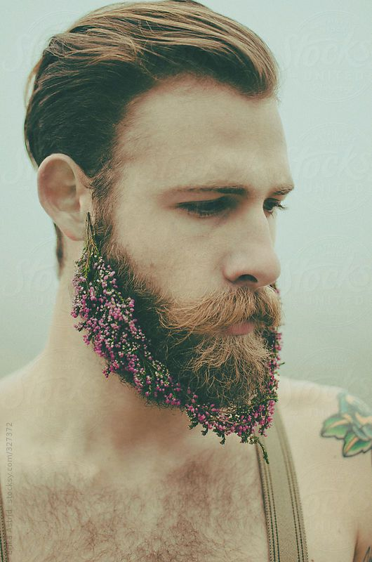 Flower Beard by Erika Astrid