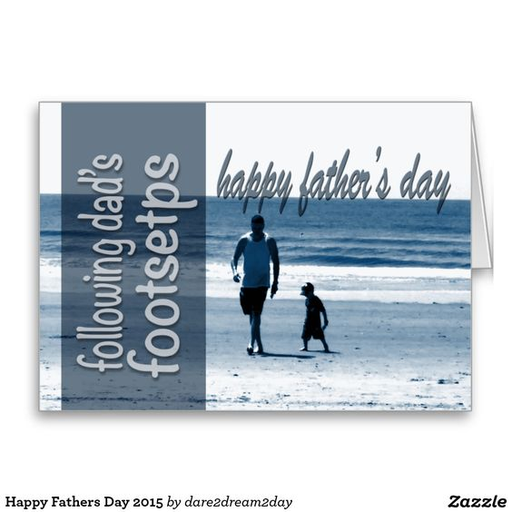 Happy Fathers Day 2015 Stationery Note Card