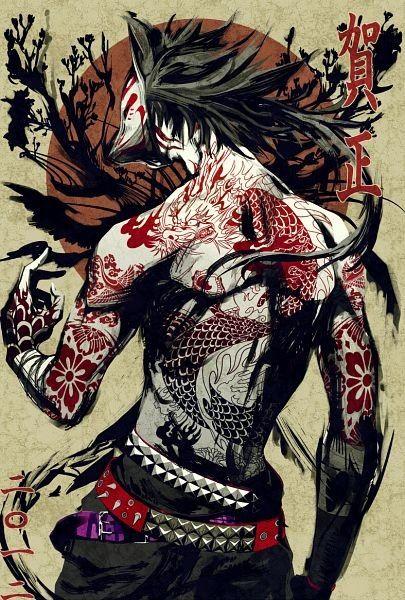 kitsune warrior - Cerca con Google | 权景乐 | Pinterest | Sun ...
