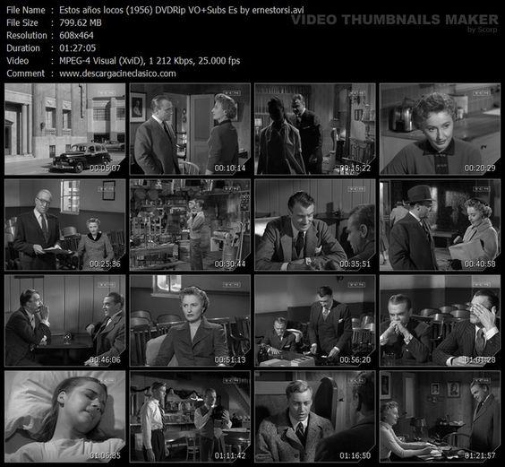 These Wilder Years / Metro-Goldwyn-Mayer, 1956 Director: Roy Rowland Estrellas principales: James Cagney, Barbara Stanwyck:
