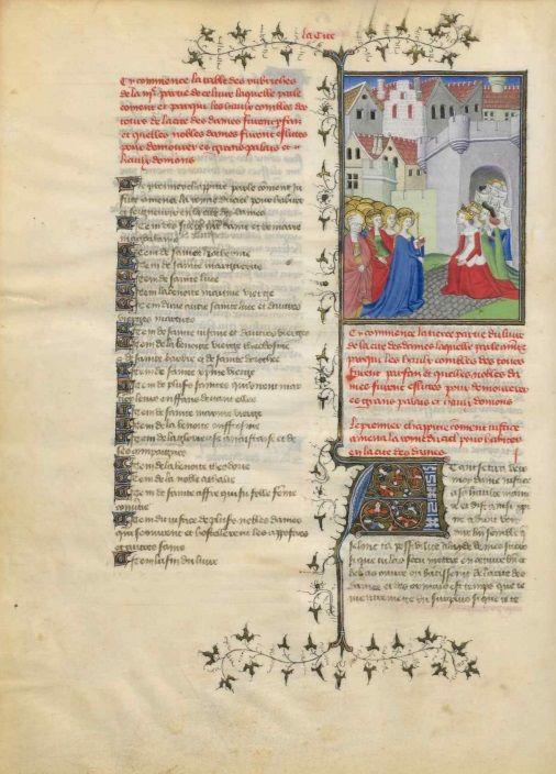 Christine de Pisan . Le Livre de la Cité des dames (El libro de la ciudad de las damas)