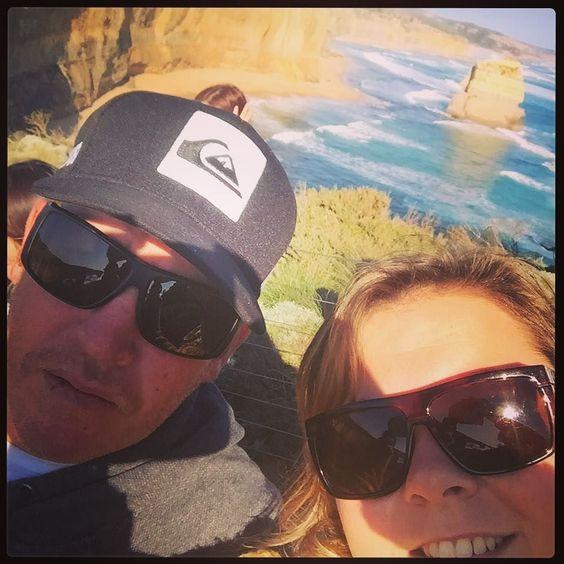 Lovers @ the 12 apostles  #visitgreatoceanroad #12apostles #roadtrippin #exploreaustralia #bucketlist by tambuck http://ift.tt/1ijk11S