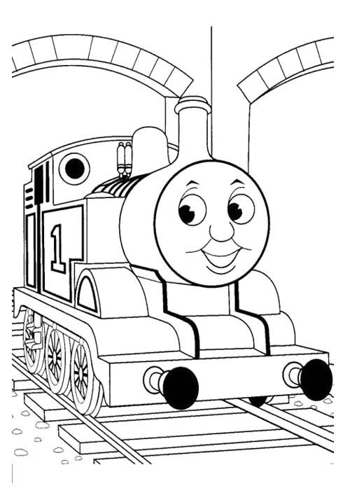 10 best Thomas Coloring Page images on Pinterest  Thomas and