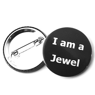Ana Cardim, Pin 'I'm a jewel' , 2007: