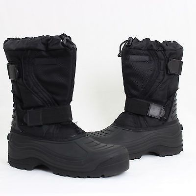 Mens Northside Black Insulated Boots