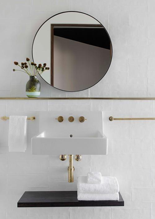 Modern Wall Mounted Bathroom Sinks Bathroom Wall Decor