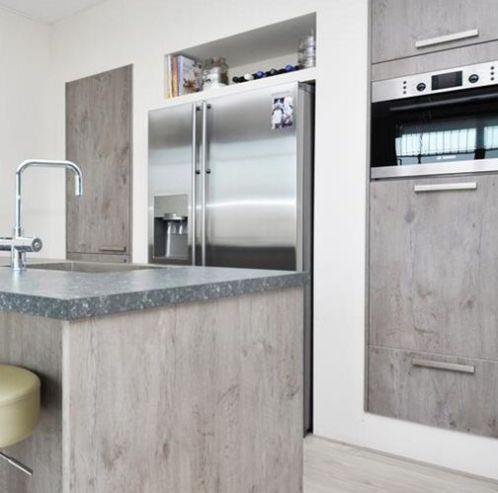 Amerikaanse koelkast in keuken google zoeken idee n - Ikea kitchenette frigo ...