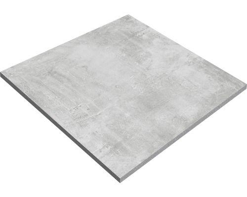 Feinsteinzeug Terrassenplatte New Concrete Grau 60x60x2 Cm Terrassenplatten Feinsteinzeug Terrassenplatten Grau