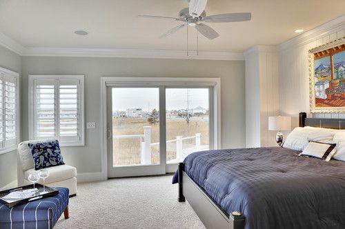 contemporary bedroom by echelon custom homes in beachy