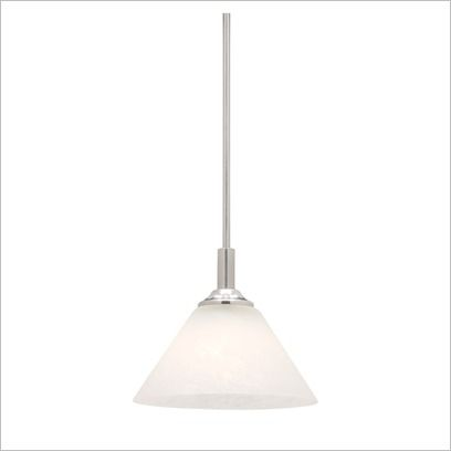 Concept 1 Light Rod Pendant Matt Opal Glass Cougar | Wayfair