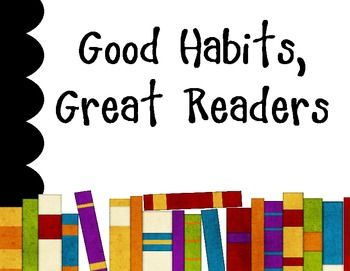 habit of reading essay 9 good reading habits besides learning reading strategies, readers learn good reading habits these behaviors should come naturally, just like eating every day if students understand why it is important to implement this list, they're more likely to take on these challenges eagerly so, i teach the list at the beginning of the.