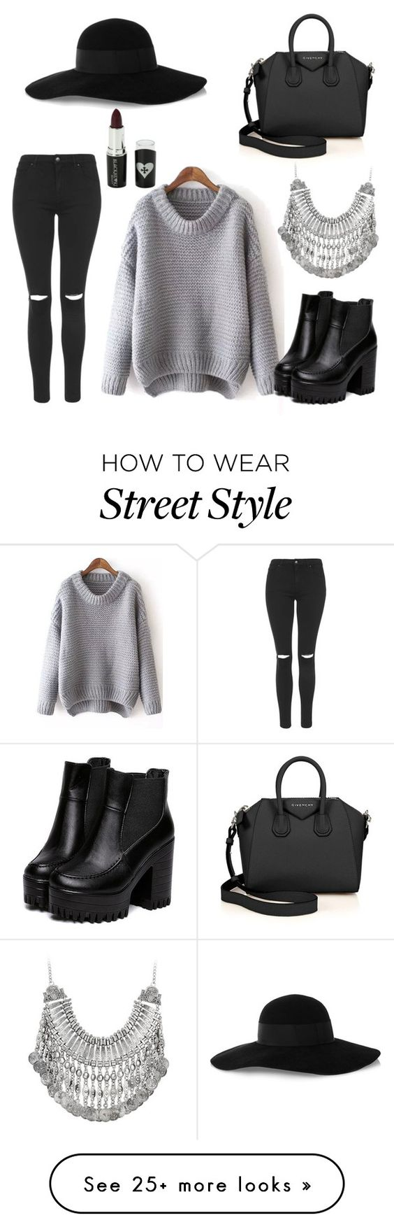 Street Style Casual By Chloebreann On Polyvore Featuring