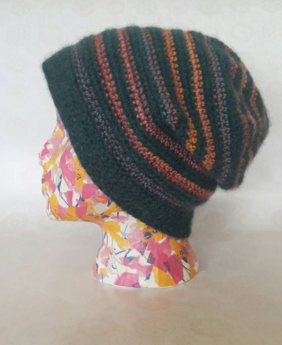 Hey, I found this really awesome Etsy listing at https://www.etsy.com/listing/490302830/soft-and-fuzzy-stripey-slouch-hat