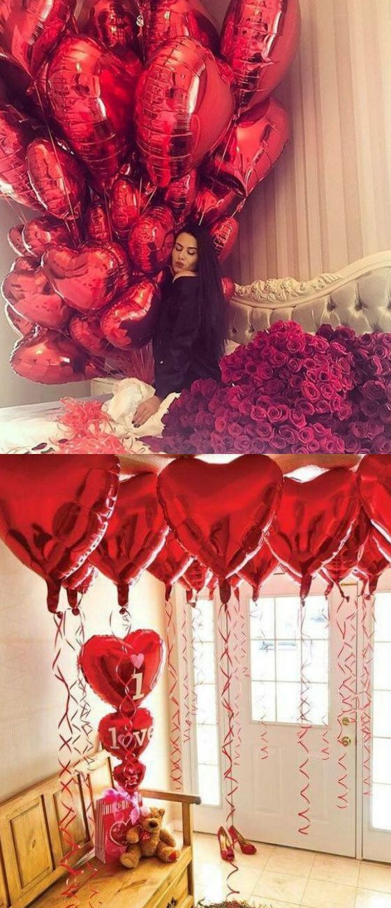 Valentines Day Gift Ideas Pinwire Valentines Day Gifts For Him Pinterest 11 Mins Ago Valentines Surprise Valentines Day Decorations Bridal Shower Balloons