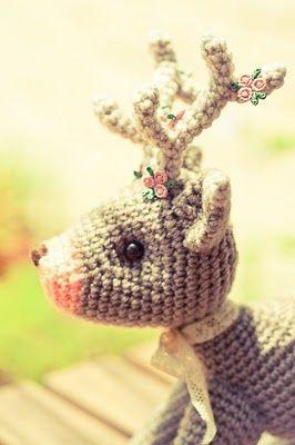Crochet Pattern For 18 Inch Doll Shoes : Cute Crochet Deer